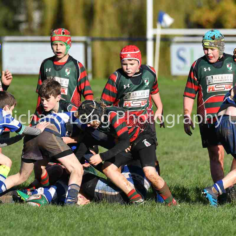 Ruthin U12's (5-36) Wrexham - 5 November 2017