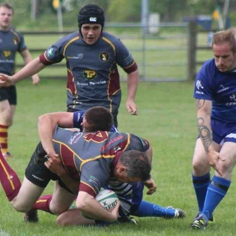 Cobra 2nds 12 v Machynlleth 19 Shield Final (28-05-16) pics by Daniel Owen