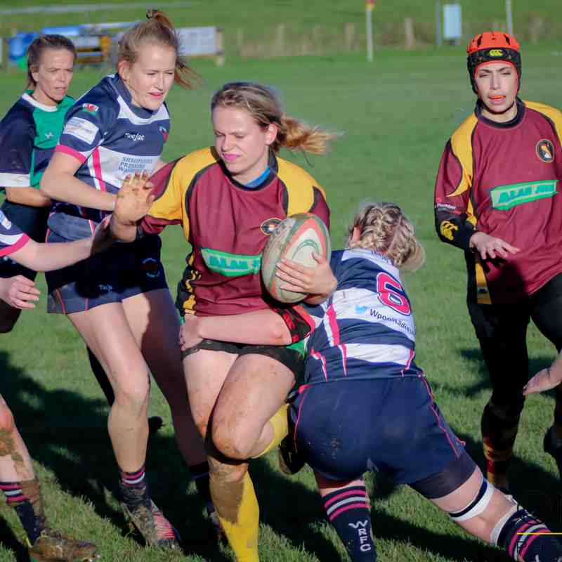 Cobra Ladies 62 v 0 Welshpool Ladies (12-11-17) pics by Chris Wright