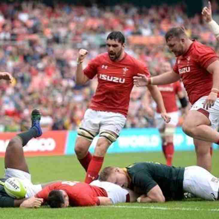 WRU REPORT: Wales claim third straight win over South Africa