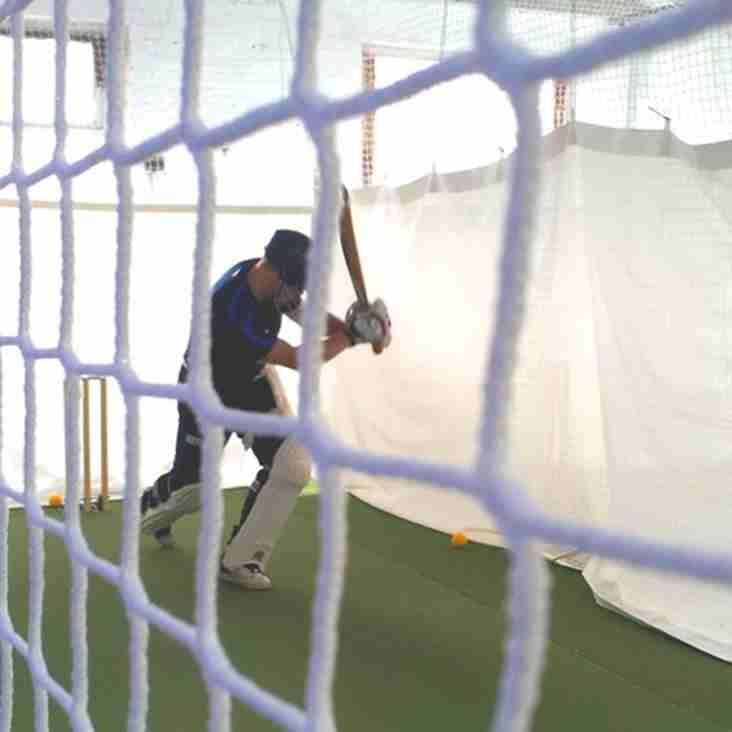Accies Pre-Season Indoor Cricket Nets