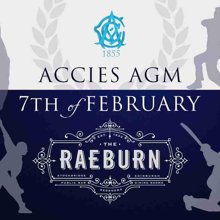 Accies AGM