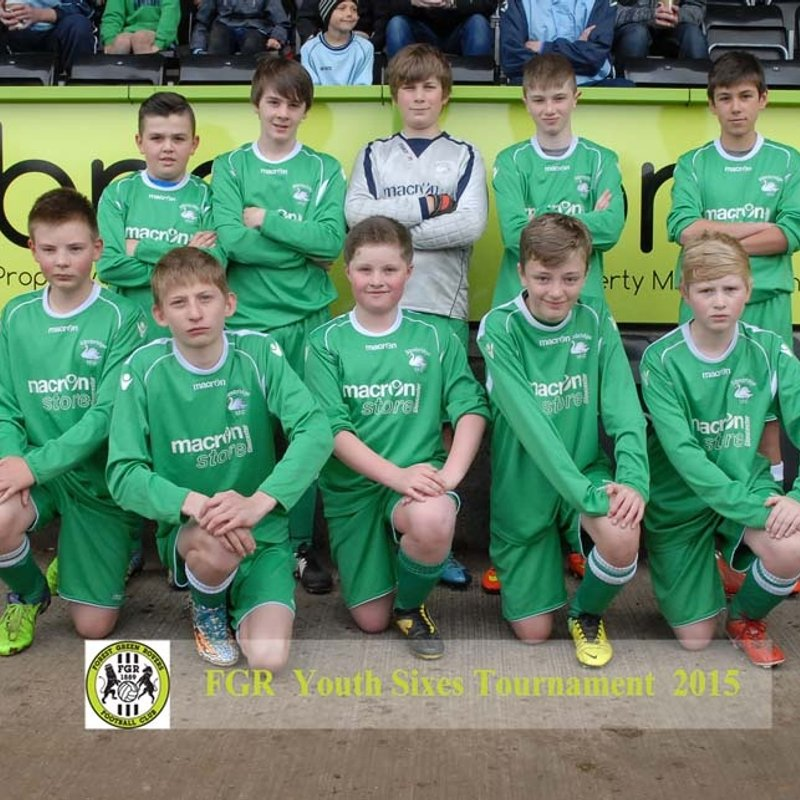 Forest Green Rovers Tournament 2015