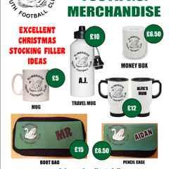 SYFC christmas 2015 merchandise offer