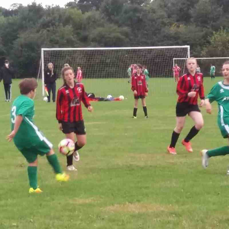 U14 v Moretonville Juniors FC  - U14. - Fri 16 Sep 2016