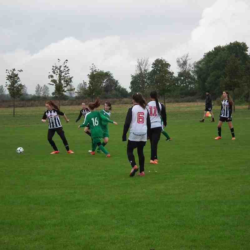 U14 v Tattenhoe Youth U14 - Sat  1 Oct 2016