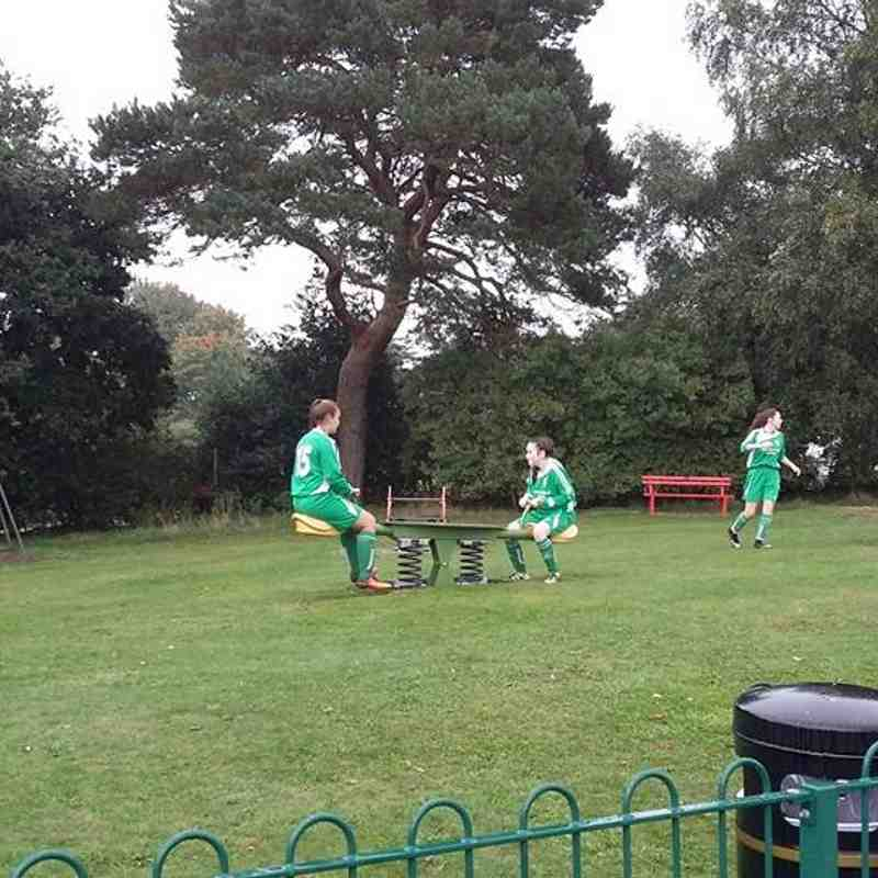 U16 v Woburn & Wavendon (Lionesses) - Sat  8 Oct 2016