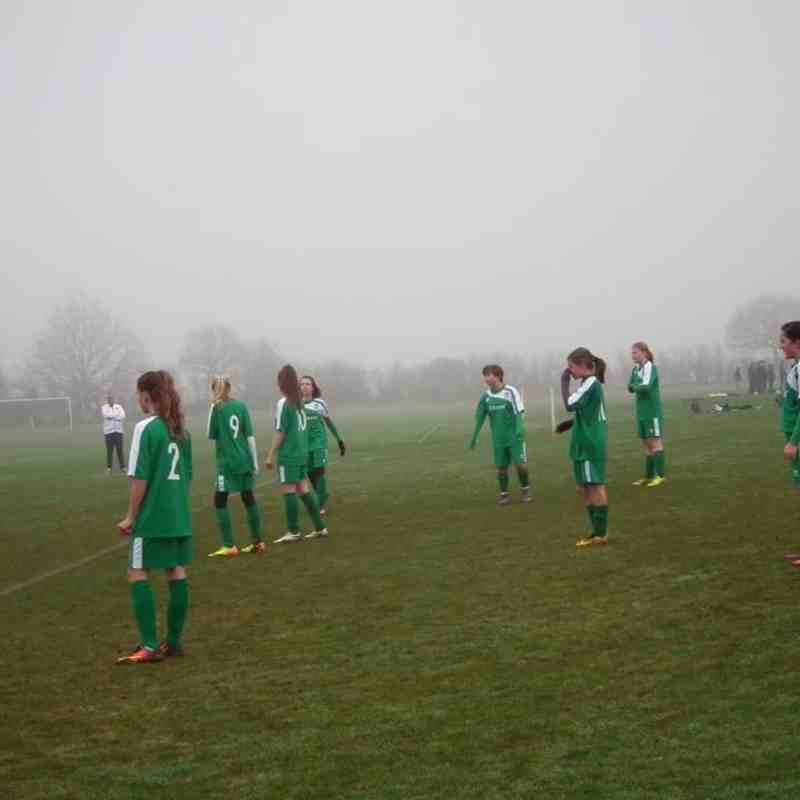U14 v Great Horwood U14 - Sat 17 Dec 2016