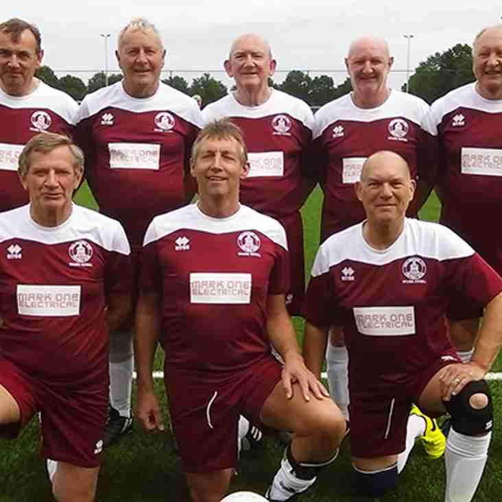 Chelmsford City Walking Football Club sponsored by Mark One Electrical