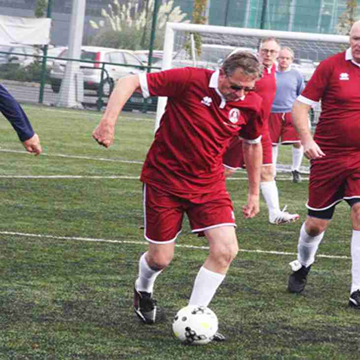 Try Walking Football For FREE