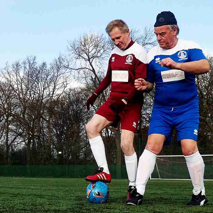 Video and Photo Guide to Walking Football