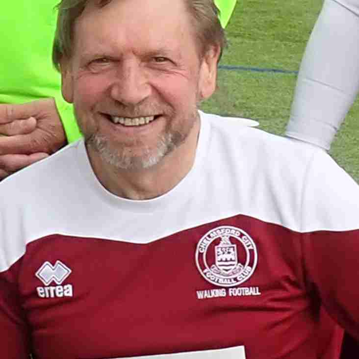 England Captain Announced for Walking Football
