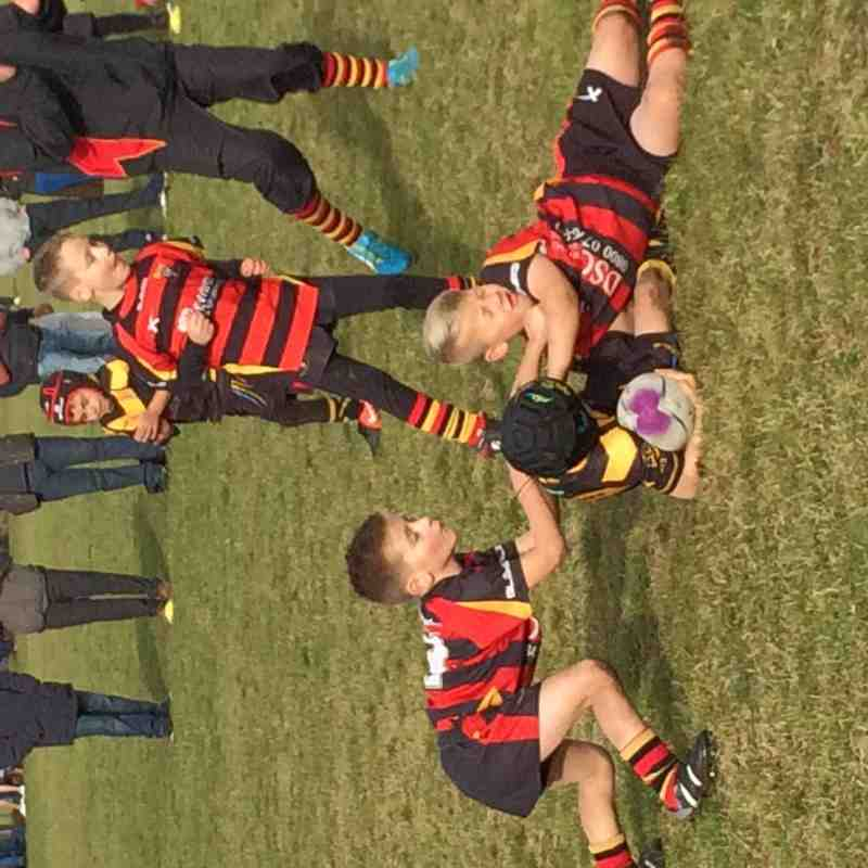 West Bank Newbies vs Leigh Miners (11-2 win) 25.10.15