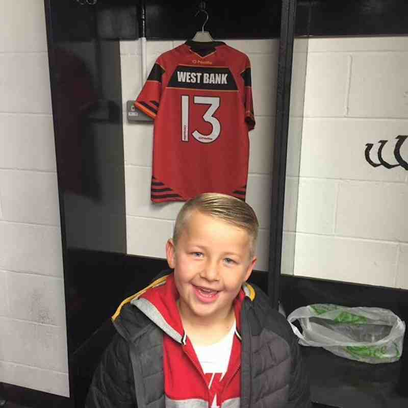 Kit Reveal U7 Newbies in The Viking's Changing rooms!
