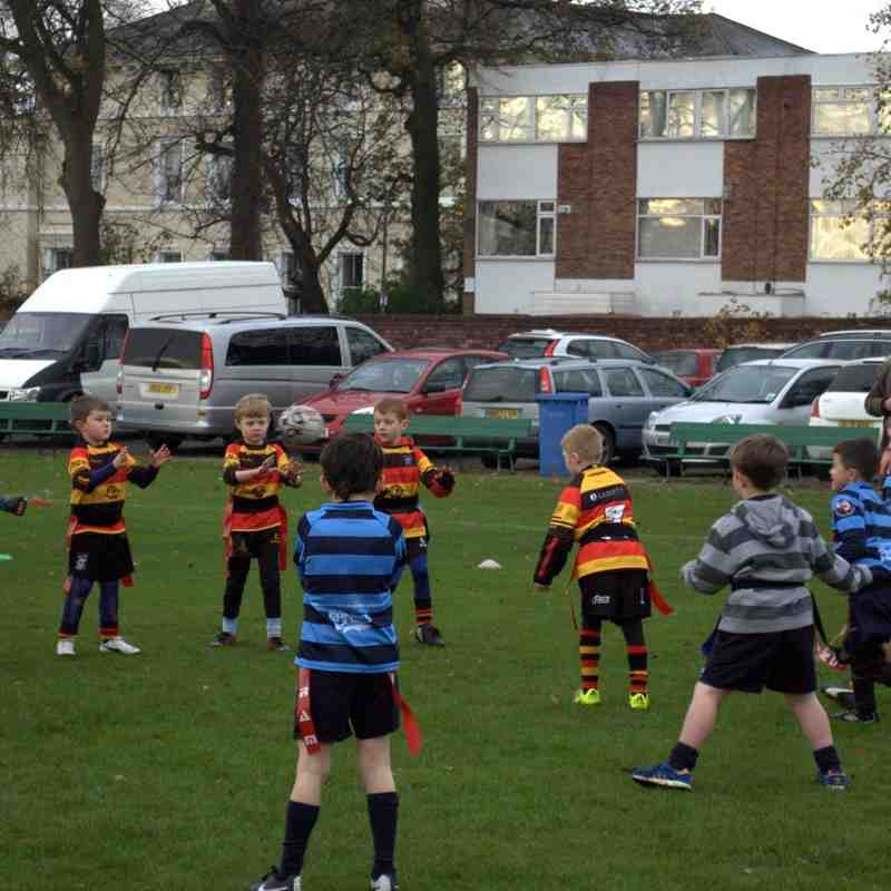 Southport Under 7s away to Liverpool Collegiate