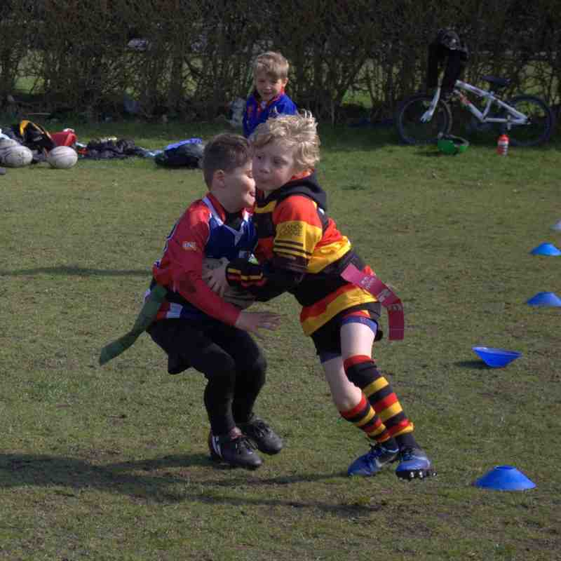 Southport U7s at home to Blackburn and Ormskirk