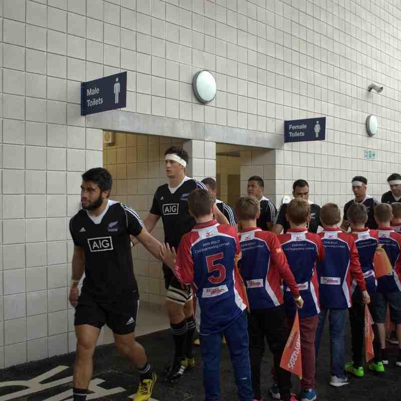 Southport U7's Tournament @ The Etihad for the New Zealand v Ireland U20's International