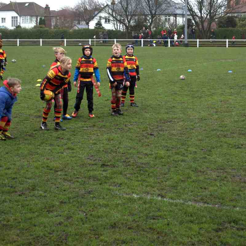 Southport U8s Away to Waterloo