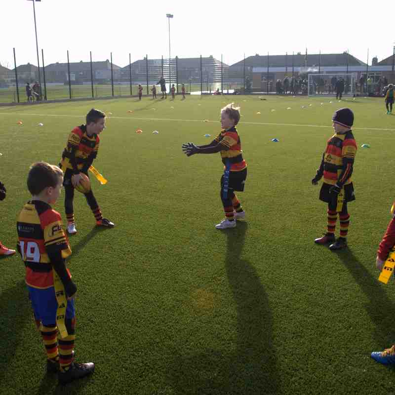 Southport U8s away to Fleetwood