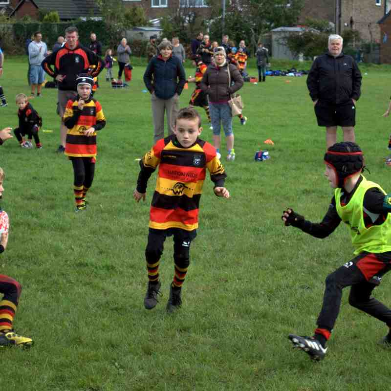 Southport U9s away to Widnes & New Brighton
