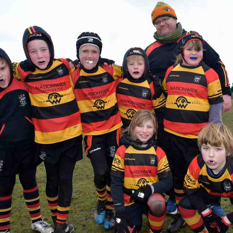 Southport U9s at Home to Blackburn and Ormskirk
