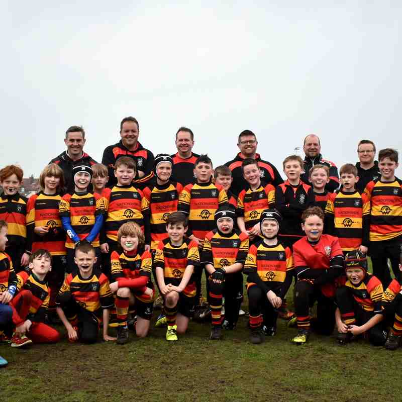 U9s at Home to Ormskirk