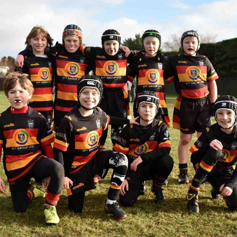 U10s at home to Widnes