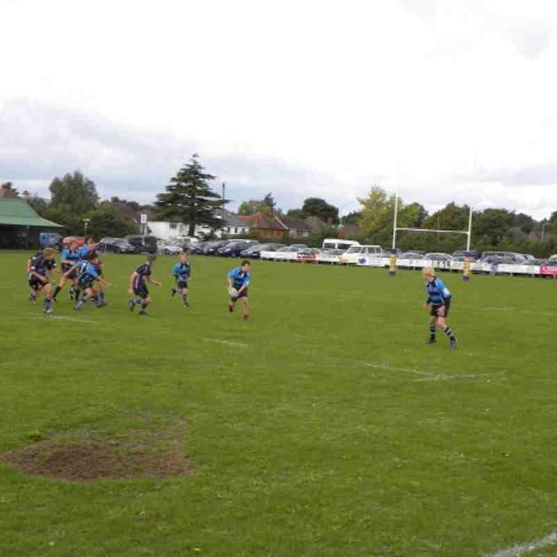 Topsham vs Exmouth U 16s September 2010