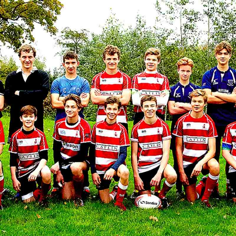 Ginger & his u 15's team