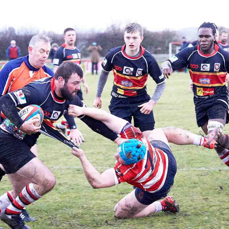 1st XV away- v's Sheppey-6th Jan 2018
