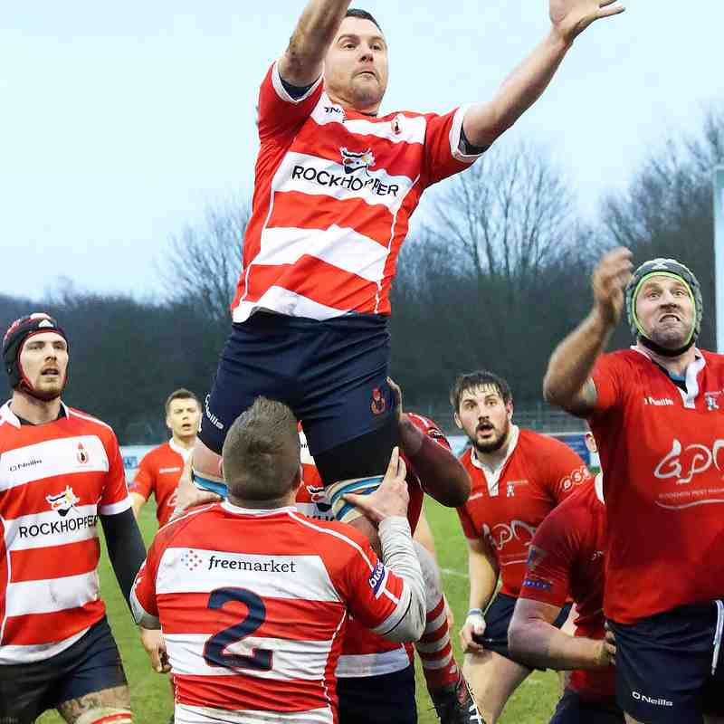 Cro 1st XV away vs Aylesford Bulls 13th Jan 2018