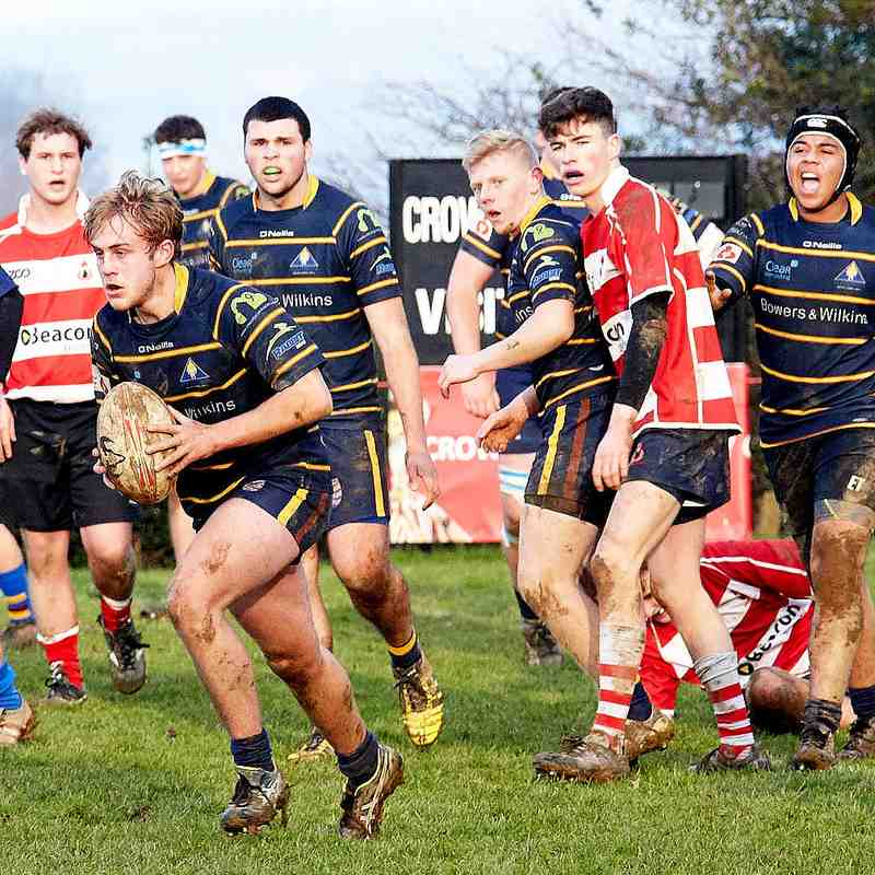 Cro Colts home vs Worthing Colts 14th Jan 2018
