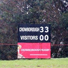 Cro XV home vs Hastings & Bexhill 27 Jan 2018