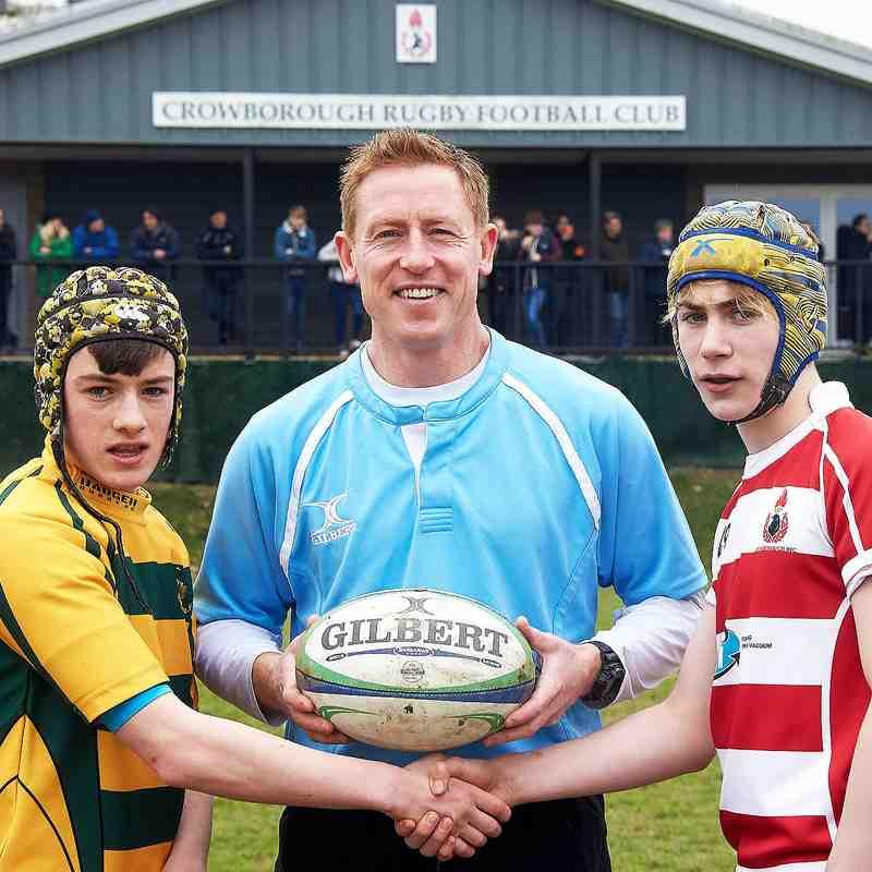 CRFC u14s vs Shoreham home 25th March2018