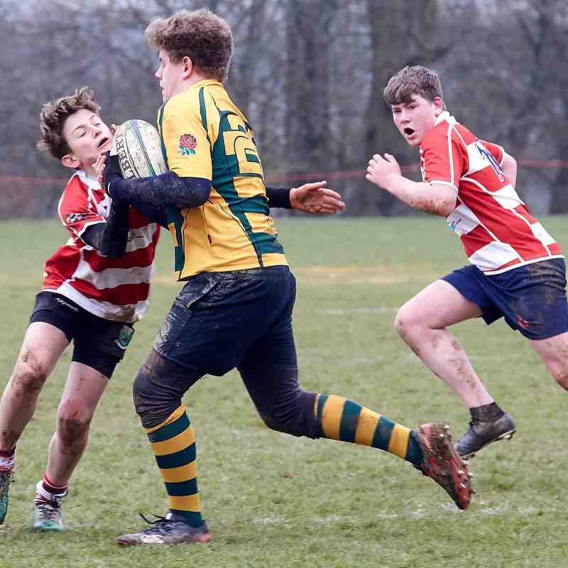 CRFC u14s vs Shoreham home 25th March2018