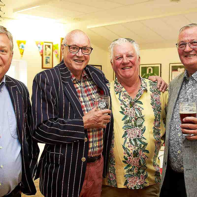 CRFC Mens dinner 21st April 2018