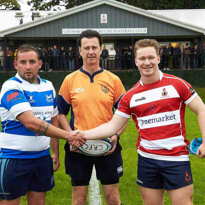 Cro XV vs Hastings & Bexhill Home 6th Oct.2018