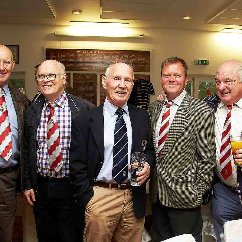 CRFC Past players lunch 6th Oct.2018