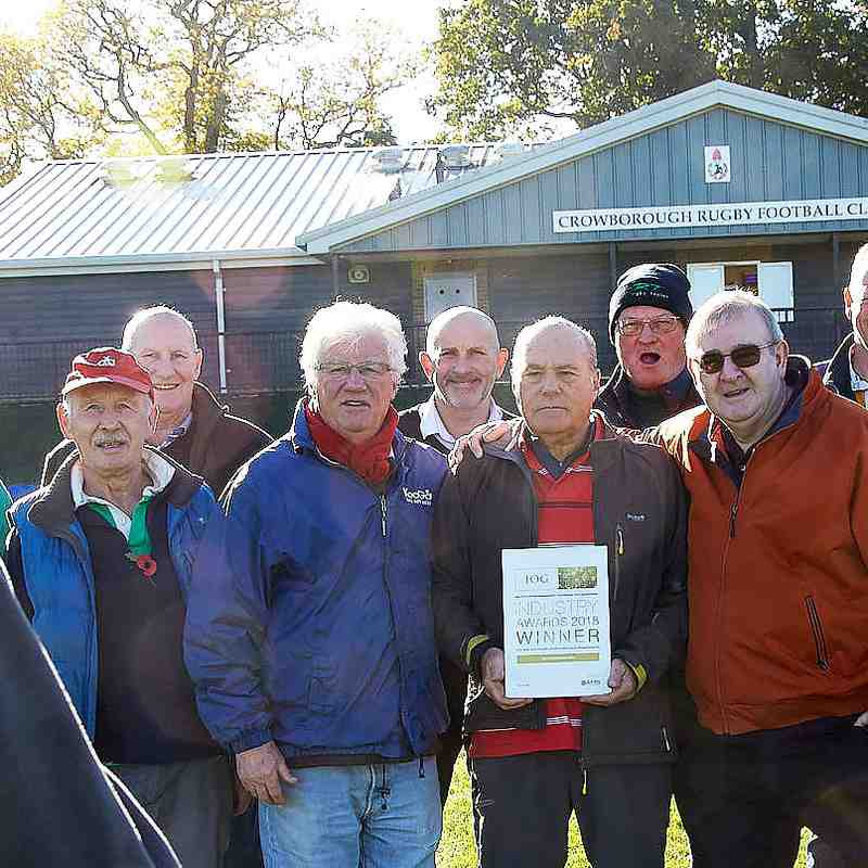 """And the IOG winners are --- ""The Friday Club""! 31 Oct.2018"