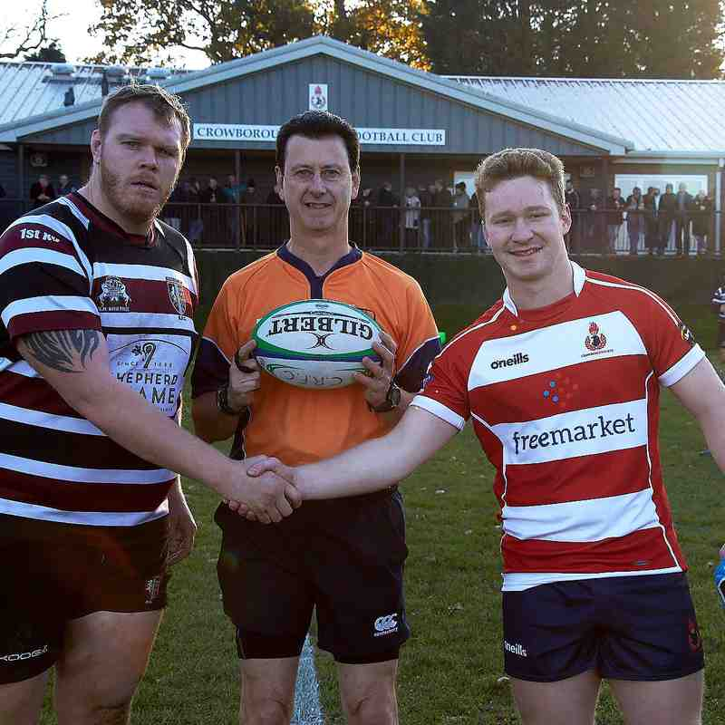 Crow XV vs Beccehamians Home 17th November 2018