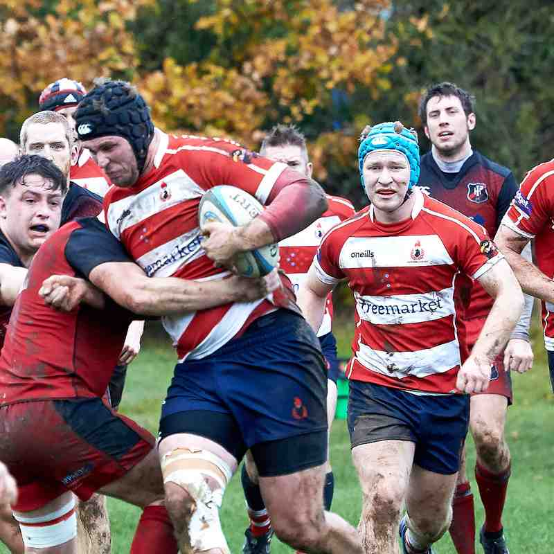 Cro XV vs Parkhouse Away 1st December 2018