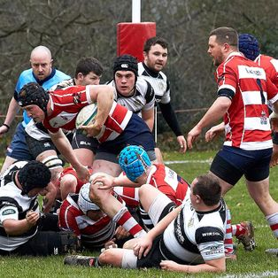 Borough  in control during a tight game at Steel Cross