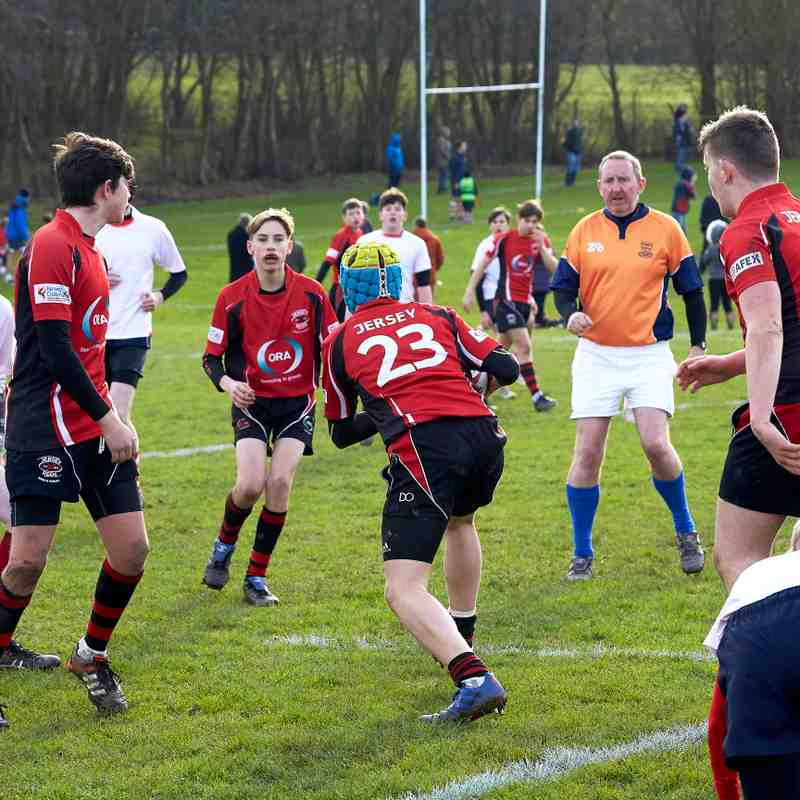 CRFC u15s vs Jersey - home 13th Jan 2019