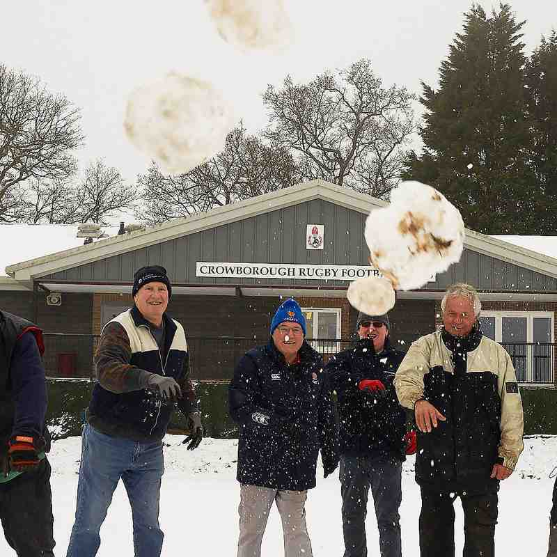 Friday Club in the snow @ CRFC 1st Feb.2019