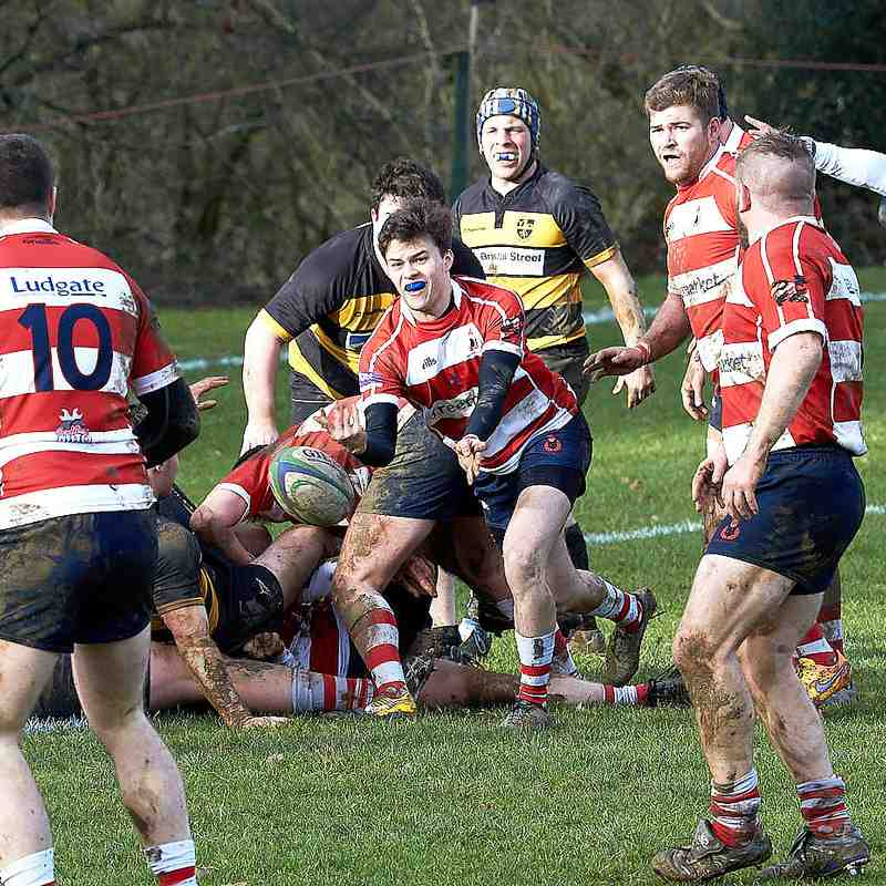 Cro 3rds vs Mid Sussex Barbarians - home 9th Feb. 2019