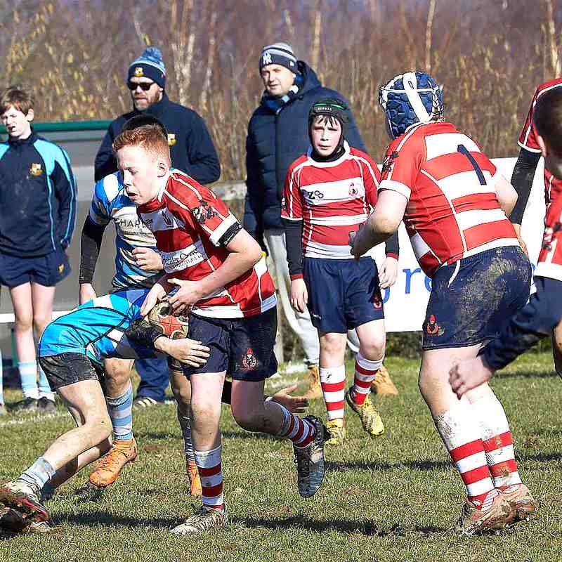 Cro u13s vs Warlingham 17th February 2019