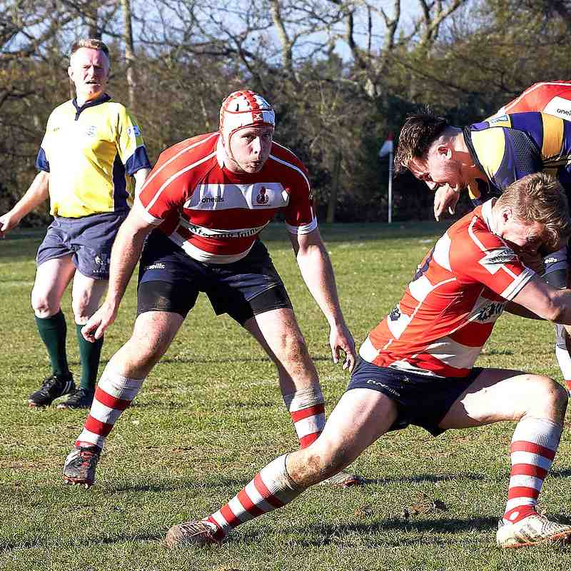 Crowborough 3rds vs Uckfield 2s - Home 23rd February 2019