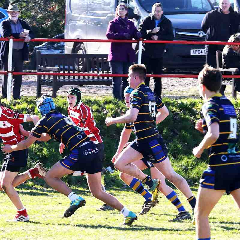 Cro Colts vs Worthing - Home  24th Feb.2019