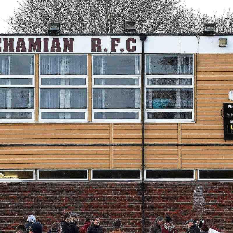 Cro XV vs Beccehamian - Away 9th March 2019