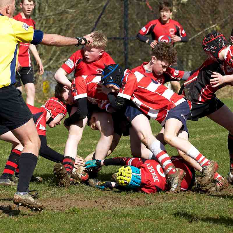 CRFC u13s vs Jersey - Home 17th March 2019